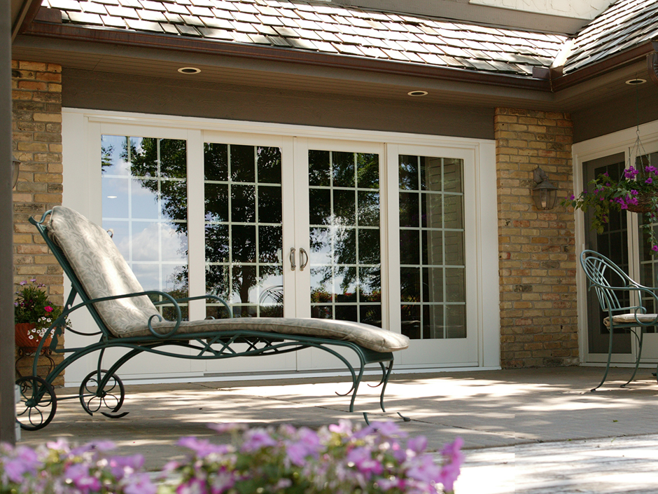 Patio doors wilmington de energy efficient patio door for Sliding door in french