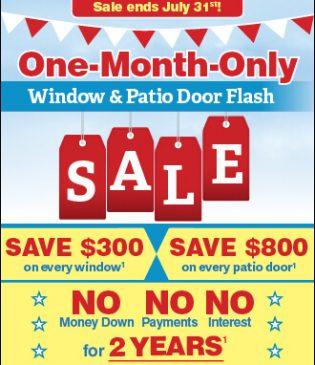 wilmington replacement window sale july 2018