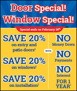 CLT CO PHIL PHO SNE replacement window sale